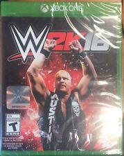 NEW WWE 2K16 XBox One Video Game Wrestling Stone Cold Steve Austin FRENCH xb1