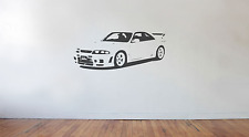 Nissan Skyline R33 GTR Nismo 400R Wall Art Decal/Sticker (Énorme) Drift Import