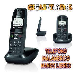 AB1 TELEFONO INALAMBRICO GIGASET AS405 MANOS LIBRES PANTALLA ILUMINADA