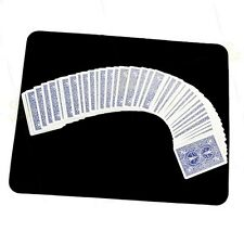 Magician Close Up Card Mat BLACK for Performance on Playing Cards & Magic Tricks