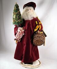 Doll Santa Father Christmas Original OOAK figure UFDC Dogwood Doll & Toy Club