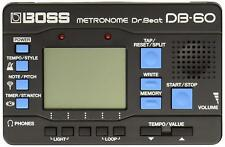 Boss Db-60 Dr. Beat Digital Metronome Music Instruments Rhythm Training Practice