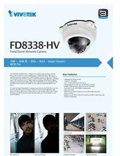 Vivotek IP Camera High Resolution FD8338-HV
