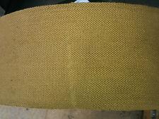 KHAKI 115mm Cotton CANVAS Webbing Quality Army Surplus Strap Bag Dog Leads Belts