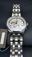 Maurice Lacroix Masterpiece Worldtimer Stainless Steel Automatic Swiss Watch