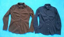 NEW YORK & CO ~ Pair (2) of City Stretch Long Sleeve Tops Shirts ~ Size SMALL S