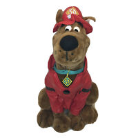 Scooby Doo Plush Fireman Costume Cartoon Network Toy Stuffed Animal