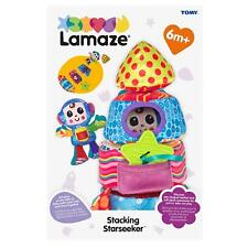 NEW Tomy Lamaze L27422 Multi Colours Stacking Starseeker Plush S/Ship Baby Toy