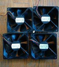 4 NMB/MINEBEA Printer Cooling Fans DC24V  P/N: 3610KL-05W-B19