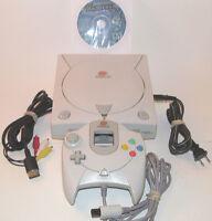 Sega Dreamcast Console Bundle System HKT-3020 w/ 12 Games *NEW CLOCK BATTERY*
