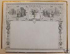 Calendrier (prototype) calendar scènes de genre 19ème siècle