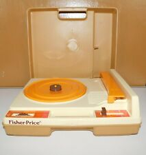 Vintage 1978 Fisher Price Toy Record Player Turntable #825 33 45 RPM