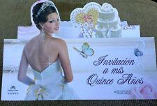 100 Invitaciones de Quinceañera (Spanish Quinceañera Invitations) Favors 15 anos