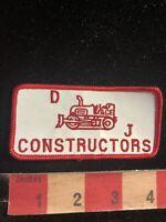 Vintage DJ CONSTRUCTORS Advertising Patch  - Construction 98C2