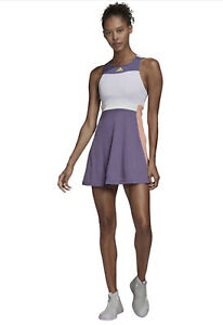 NWT Adidas HEAT.RDY Tennis Purple Y-Dress Australian Open 2020 FK0761 Size XL