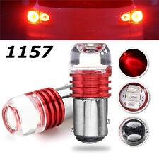 2pcs High Power Red 1157 BAY15D 3LED Bulb For Car Turn Tail Brake Strobe Light