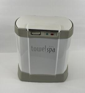 Brookstone Towel Spa Warmer Heater Blanket Robe TSK-5201MA Works Great!