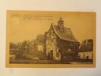 TARJETA POSTAL- Waterloo interior la granja de Hougoumont el capilla (s 16
