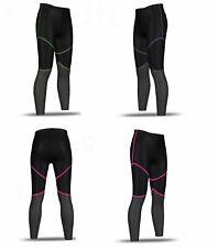 Ladies Womens Black Blue Pink Green Compression Leggings Pants Running Skins