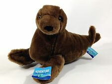"Adventure Aquarium Harbour Seal 12"" Stuffed Plush Animal Toy"