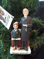 Vintage Norman Rockwell Figurine First in His Class Dave Grossman circa 1970s