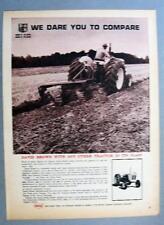 Original 1967 David Brown 990 Tractor Ad WE DARE TO COMPARE 8 by 11
