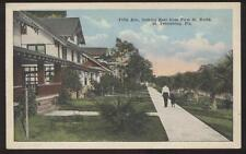 Postcard ST PETERSBURG,Florida/FL  Fifth 5th Ave Houses/Homes view 1910's