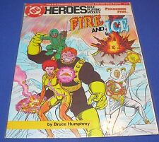 DC Role Playing Game RPG Module #215 Fire and Ice Fearsome Five