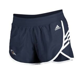 UTSA Roadrunners  NCAA Adidas Women's Navy Blue 3-Strie Woven Shorts