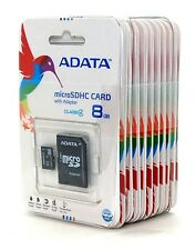 New Lot Of 100 ADATA Class 4 8GB MicroSD MicroSDHC SD TF Flash Memory Card 8 GB