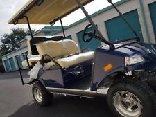 2020 Blue Evolution LSV Golf Cart Car Classic 4 Passenger Street Legal