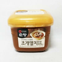 Korean Soy Bean Paste with Shell and Anchovy 450g Traditional Soup