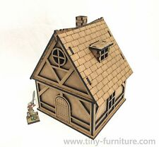 Classic cottage - 28mm, Warhammer, FB, Frostgrave, Malifaux, laser cut, scenery