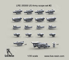 Live Resin 1/35 LRE-35008 US Army Trijicon ACOG 4X Day Scope w/KillFlash (Set 2)