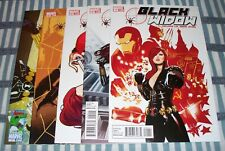The Black Widow lot of 5 comics #1, 2, 3, 5 & 7 from 2010 in nice condition