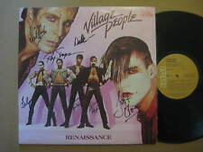 VILLAGE PEOPLE Renaissance AUSSIE LP 1981 - VPL1 6585 - FULLY SIGNED COPY !!!