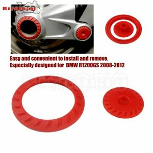 RED Right Angle Gearbox Drive Cover Rear Drive Shaft Cover For BMW R1200GS 08-12