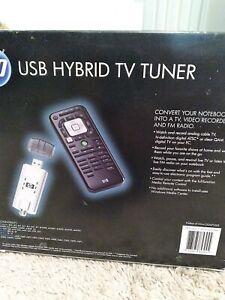 HP USB Hybrid TV TUNER KS523AA- New. SHIPS FAST! A10