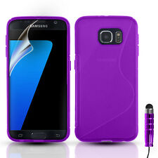 ULTRA THIN SILICONE GEL CASE COVER & FOR SAMSUNG GALAXY S7 S7 EDGE