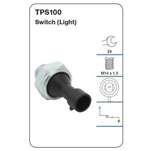 Tridon Oil Pressure Switch TPS100 fits Fiat Ducato 120 Multijet 2.3 D, 160 Mu...