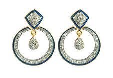 Classic Design Fashion Cubic Zirconia Drop Earring for Girls  Women PH15