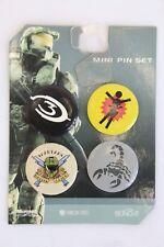 Halo 3 Mini Pin Set RARE Collectible Master Chief Spartans Scorpion Bungie XBox