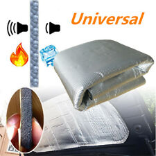Aluminum Car Firewall Mat Heat Shield Foil Sound Insulation Deadening Foam 10mm