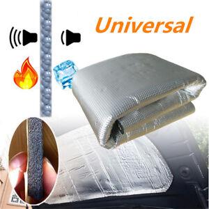 Aluminum Car Firewall Mat Heat Shield Foil Sound Insulation Deadening Foam 10mm