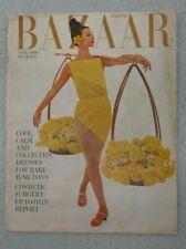 HARPER'S BAZAAR MAGAZINE JUNE 1960 DIANA VREELAND GLEB DURUJINSKY COVER FASHION