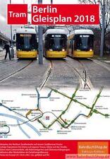 Neu: Gleisplan Tram Straßenbahn Berlin 2018