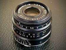 Leica M Mount SUMMARIT-M 35mm f/2.5 manual focus lens + hood E39 6Bit 100477