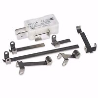 DOOR / FRYER SAFETY MICRO SWITCH KIT 7 PIECE 6 ACTUATOR ATTACHMENTS 16A 16 AMP