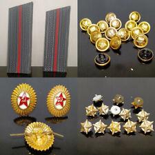 Schulterklappen UdSSR 9Paare+48 Sterne+28 Knöpfe+alles auf dem Foto