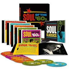 Soul of The 60's Time Life 9 CD box Set 151 Hits New Factory Sealed USA Shipper
